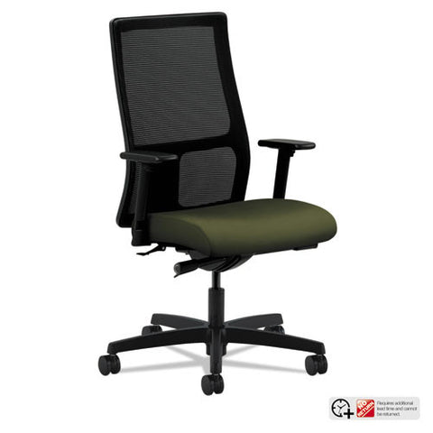 HON Ignition Mid-Back Mesh Task Chair in Olivine ; UPC: 641128105866