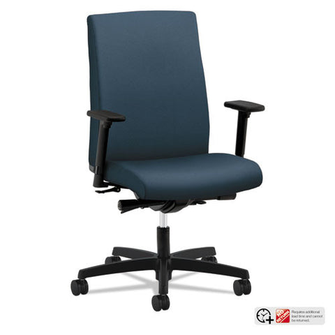 HON Ignition Mid-Back Task Chair in Cerulean ; UPC: 089191691778