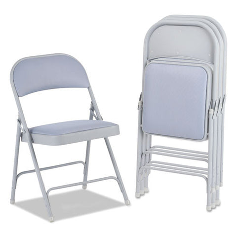 Alera Steel Folding Chair with Two-Brace Support ALEFC97G,  (UPC:042167960353)