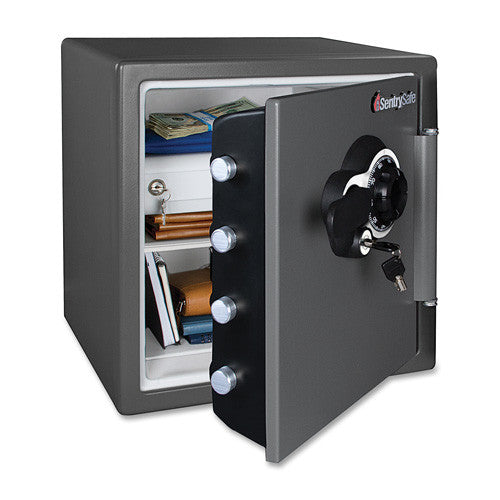 Sentry Safe Fire-Safe Dial Mechanical Lock Business Safe (SENSFW123DEB)
