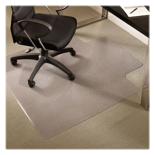 ES Robbins AnchorBar Lipped Chairmat ESR122083, Clear (UPC:012544220837)