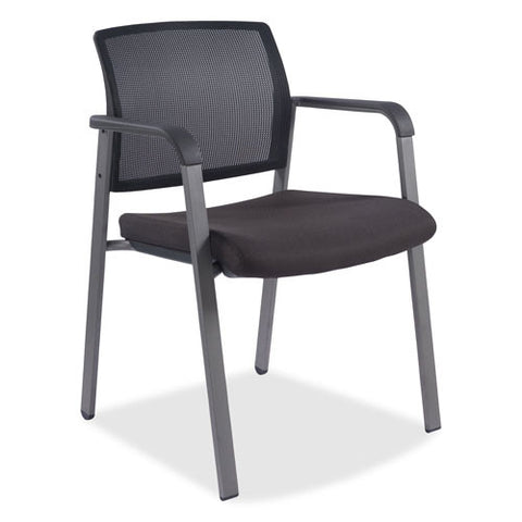 Lorell Stackable Guest Chair LLR30956, Black (UPC:035255309561)