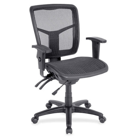 Lorell Mid-Back Mesh Swivel Chair (035255869041)