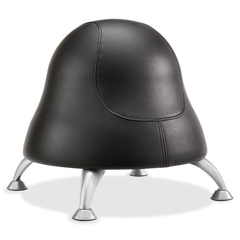 Safco Runtz Ball Chair ; Black Vinyl ; SAF4756BV
