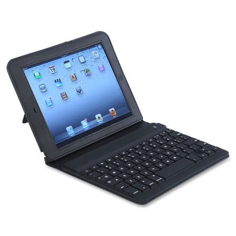 Compucessory 70-Key iPad Air Portfolio Case w/ Bluetooth Keyboard ; Black ; (794192282831)