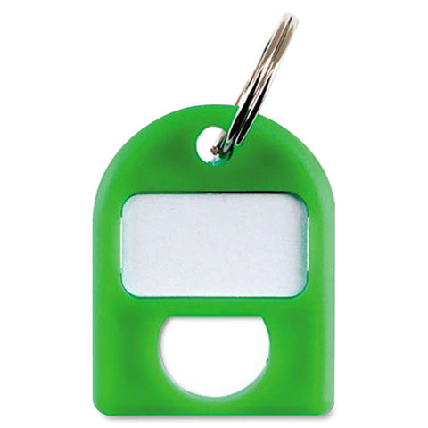 Carl Color-coded Key Tag CUI80088, Green (UPC:682391800881)
