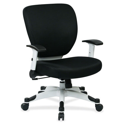 Office Star Deluxe Mesh Task Chair OSP5200W3, Black (UPC:090234108771)