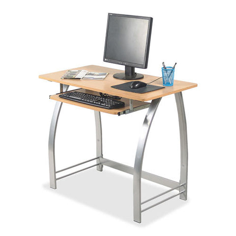 Lorell Maple Laminate Computer Desk (035255143394)