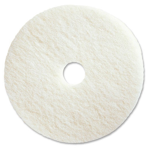 Genuine Joe Polishing Floor Pad ; (035255905138); Color:White