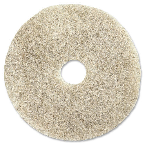 "Genuine Joe 20"" Natural Light Floor Pad ; (035255922272); Color:Natural"