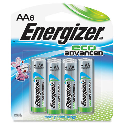 Energizer EcoAdvanced AA Batteries ; (039800123909)