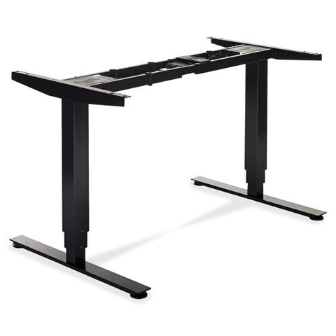 Lorell Electric Height Adj. Sit-Stand Desk Frame LLR25992, Black (UPC:035255259927)