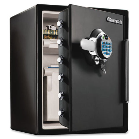 sentry safe fire/water safe with biometric lock (049074023911)
