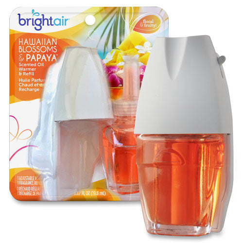 Bright Air Electric Scented Oil Air Freshener Warmer & Refill ; (814840011382)