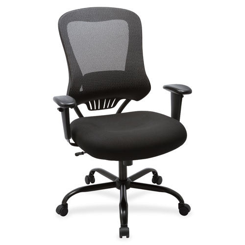 Lorell 400 lb Capacity Mesh Back Executive Chair LLR59536, Black (UPC:035255595360)