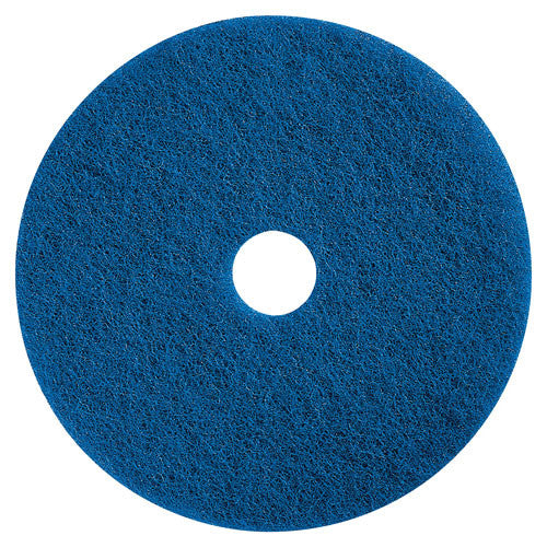 Impact Products Medium-duty Scrubbing Floor Pad ; (729661230419); Color:Blue