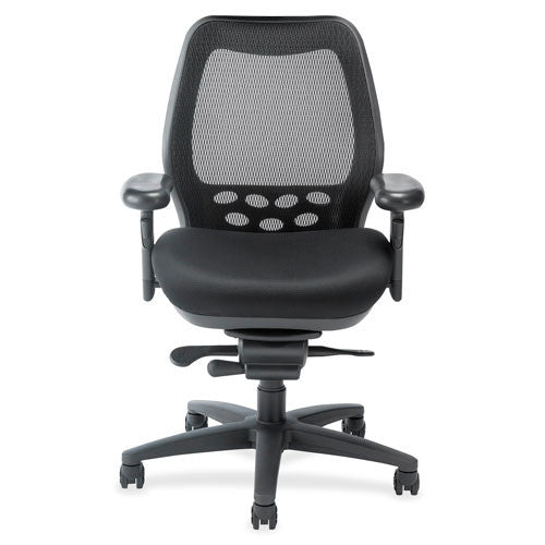Nightingale SXO Executive Mid-back Chair NGL6100C1, Black (UPC:662578941590)