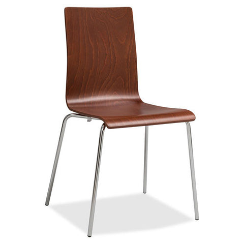 Safco Bosk Stack Chair SAF4298CY, Cherry (UPC:073555429848)