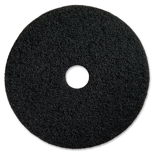 Genuine Joe Extreme Hi Pro Stripping Pad ; (035255931205); Color:Black