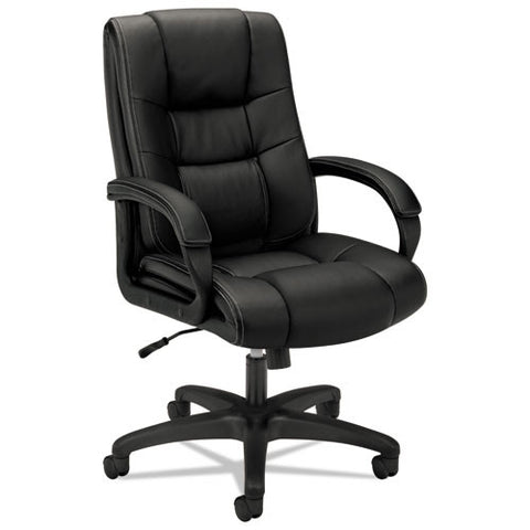 basyx by HON HVL131 Executive High-Back Chair in Black ; UPC: 641128185950