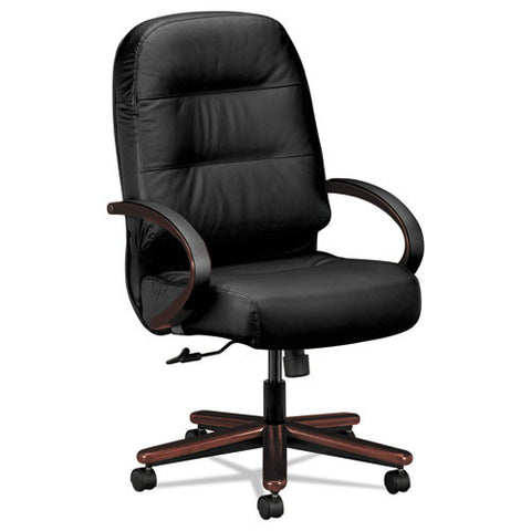 HON Pillow-Soft Executive High-Back Chair in Black ; UPC: 782986666585