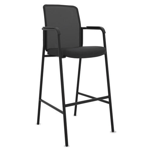 basyx by HON HVL538 Cafe-Height Stool in Black ; UPC: 089192829002