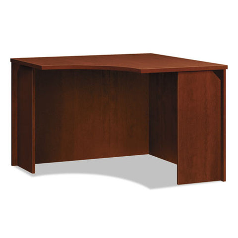 basyx by HON BL Series Corner Unit in Medium Cherry ; UPC: 089191413301