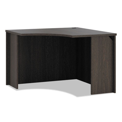 basyx by HON BL Series Corner Unit in Espresso ; UPC: 089191412700