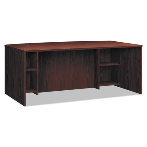 basyx by HON BL Series Breakfront Desk Shell in Mahogany ; UPC: 089191407911