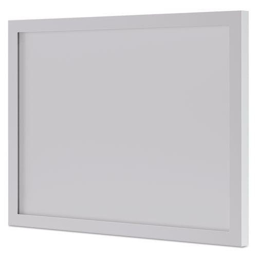 basyx by HON BL Series Modesty Panel in Silver Frame/Frosted Glass ; UPC: 089191414988