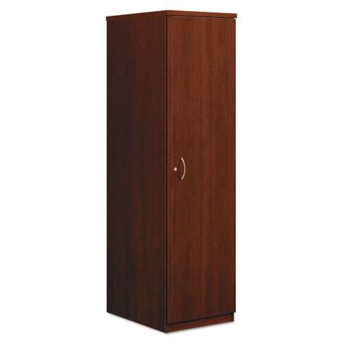 basyx by HON BL Series Personal Wardrobe Cabinet in Medium Cherry ; UPC: 641128426640