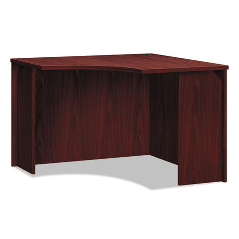 basyx by HON BL Series Corner Unit in Mahogany ; UPC: 089191413172