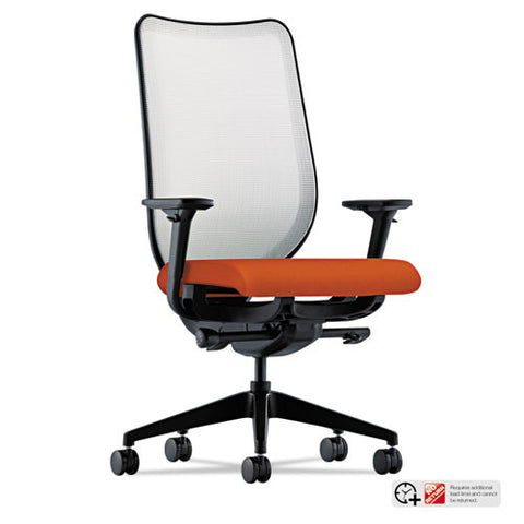 HON Nucleus Task Chair in Tangerine ; UPC: 089192284870
