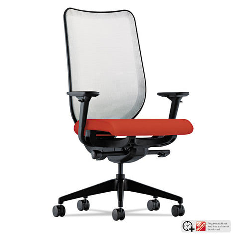 HON Nucleus Task Chair in Poppy ; UPC: 745123342681