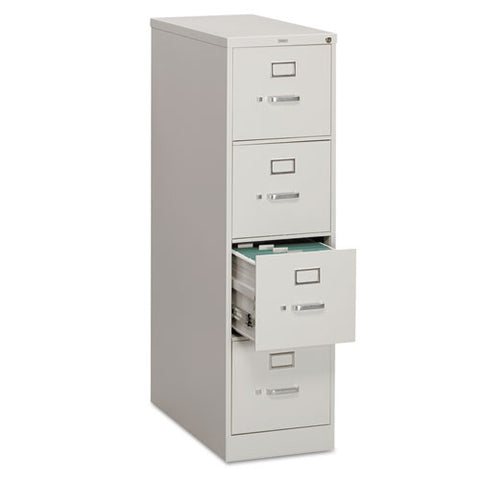"HON 310 Series Vertical File | 4 Drawers | Letter Width | 15""W x 26-1/2""D x 52""H 