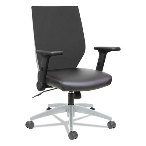 Alera Eb-T Series Syncho Mid-Back Flip-Arm Chair ; UPC: 42167393434