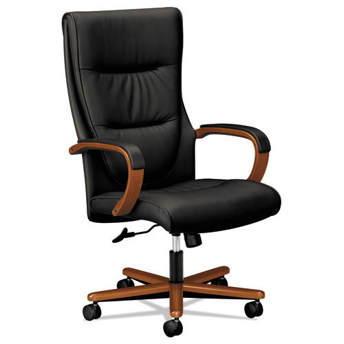 basyx by HON HVL844 Executive High-Back Chair in Black ; UPC: 089191137498
