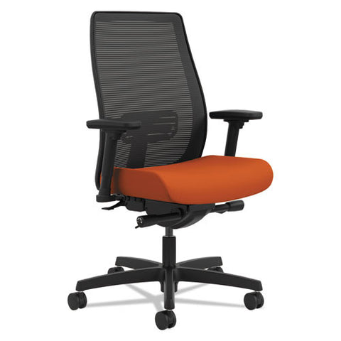HON Endorse Mesh Mid-Back Task Chair in Tangerine ; UPC: 889218153759