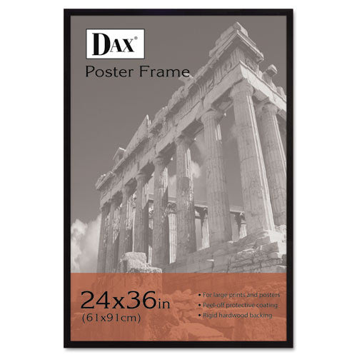 "Dax Styrene Front 24""x36"" Wooden Frame ; (076795093398); Color:Black"