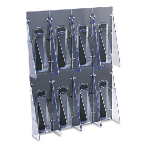 Deflecto Pamphlet Wall Rack DEF56201, Clear (UPC:079916562018)