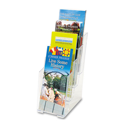 Deflecto Leaflet Size Literature Holder DEF77701, Clear (UPC:079916777016)