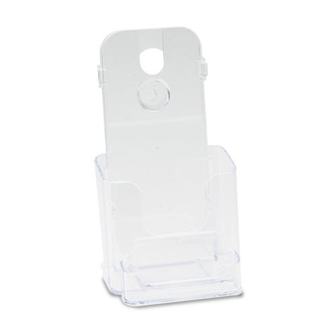 deflecto DocuHolder for Countertop or Wall Mount Use DEF78601, Clear (UPC:079916786018)