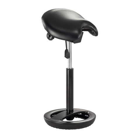 Safco Products Twixt Saddle Seat Stool, Extended-Height 3006BV Image 1