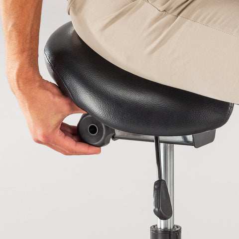 Safco Products Twixt Saddle Seat Stool, Extended-Height 3006BV Image 4
