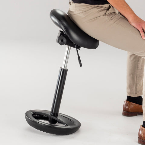 Safco Products Twixt Saddle Seat Stool, Extended-Height 3006BV Image 6