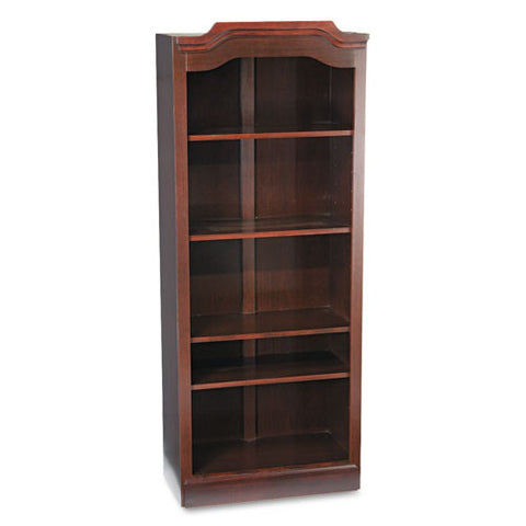 DMi Governor's Open Bookcase DMI735008, Mahogany (UPC:095385009182)