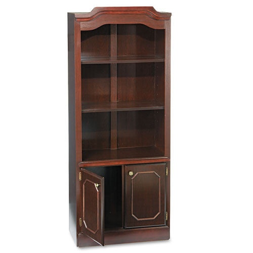 DMi Governor's Bookcase With Doors DMI735009, Mahogany (UPC:095385009199)