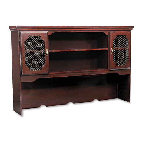 DMi Governor's Overhead Hutch for Credenza DMI735062, Mahogany (UPC:095385022518)