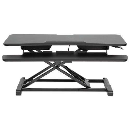 Alera AdaptivErgo Sit-to-Stand Workstation in Black ALEAEWR4B