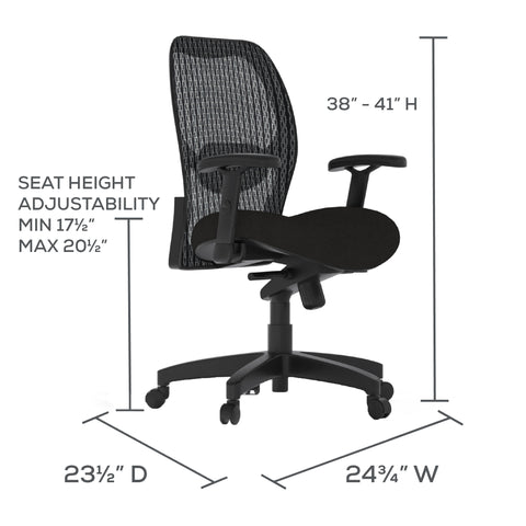 Safco Products 3200 - Mesh Desk Chair 3200S(Image 5)